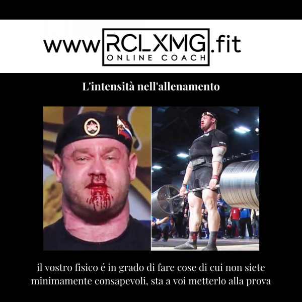 Intensità di carico forza stacco deadlift allenamento powerlifting