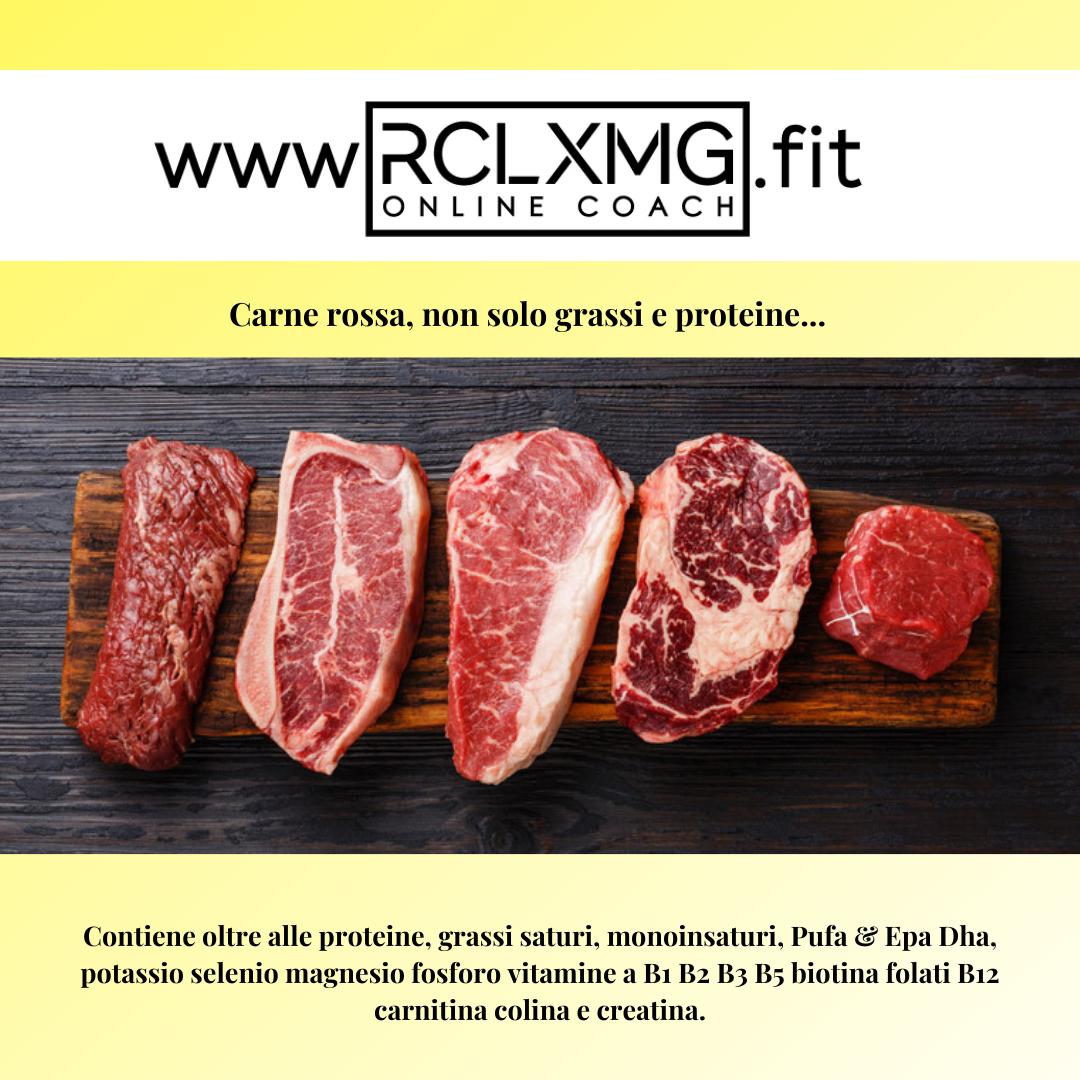 Carne rossa, non solo grassi e proteine...