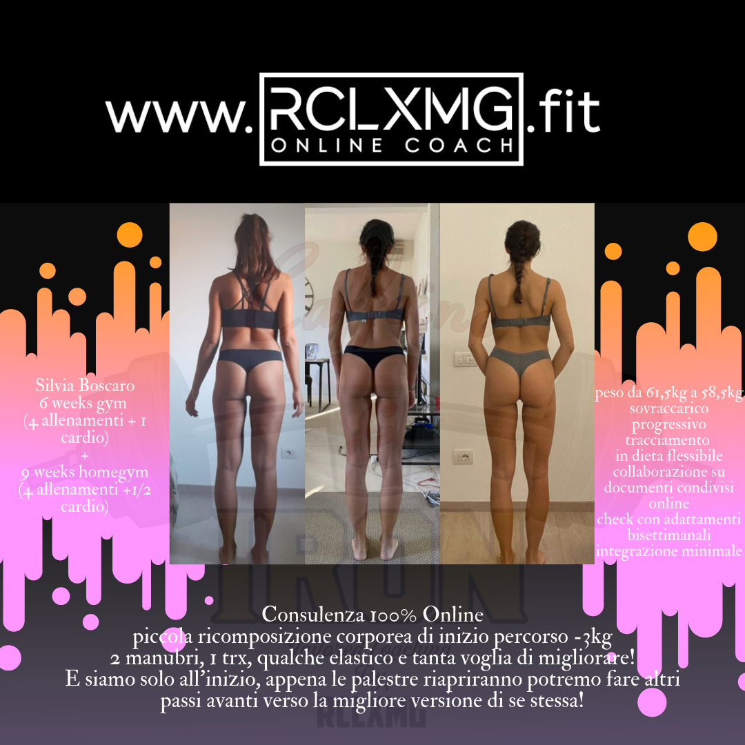 silvia boscaro online coaching personal trainer