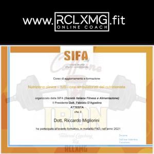 Nutrizione Clinica Sifa